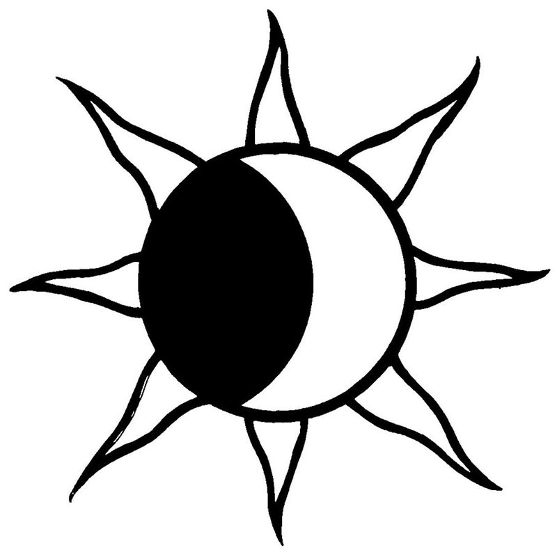 800x800 Graphics For Summer Black And White Sun Graphics Www