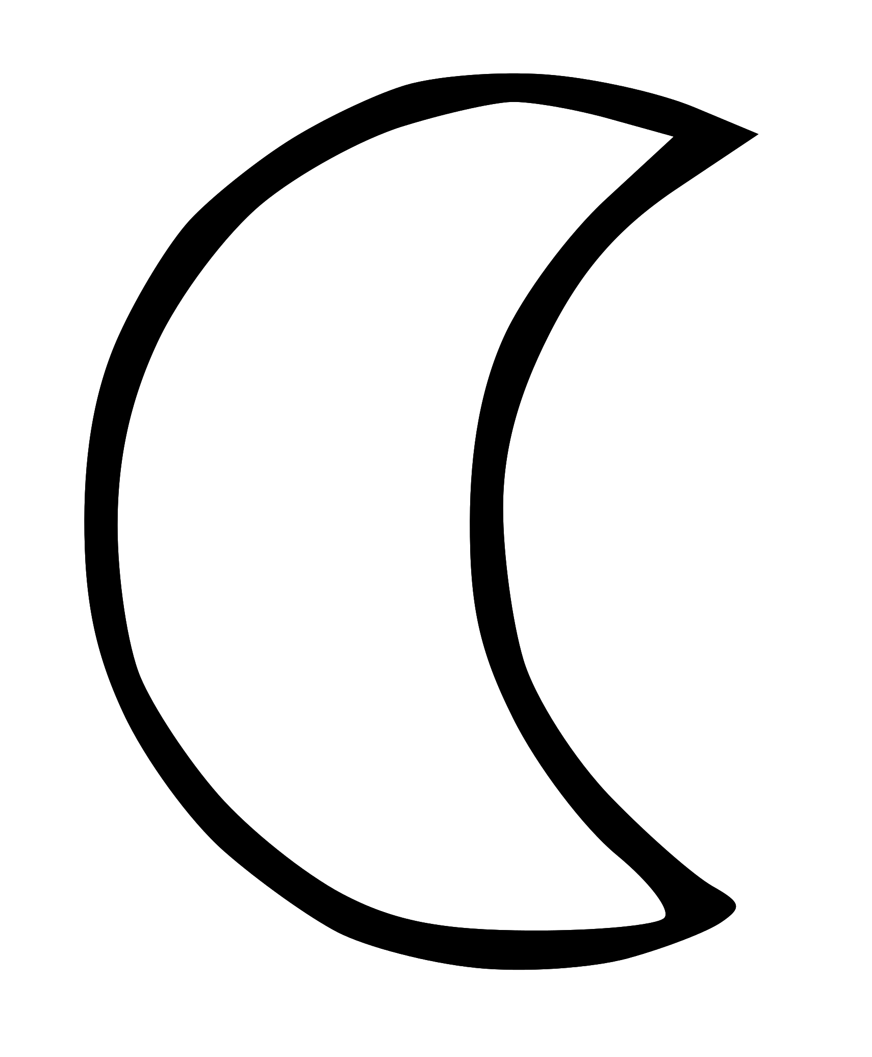 1710x2072 Moon Black And White Moon Clip Art Black And White Free Clipart