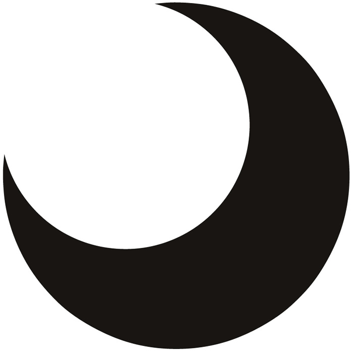 700x700 Moon Clip Art Black And White Free Clipart Images