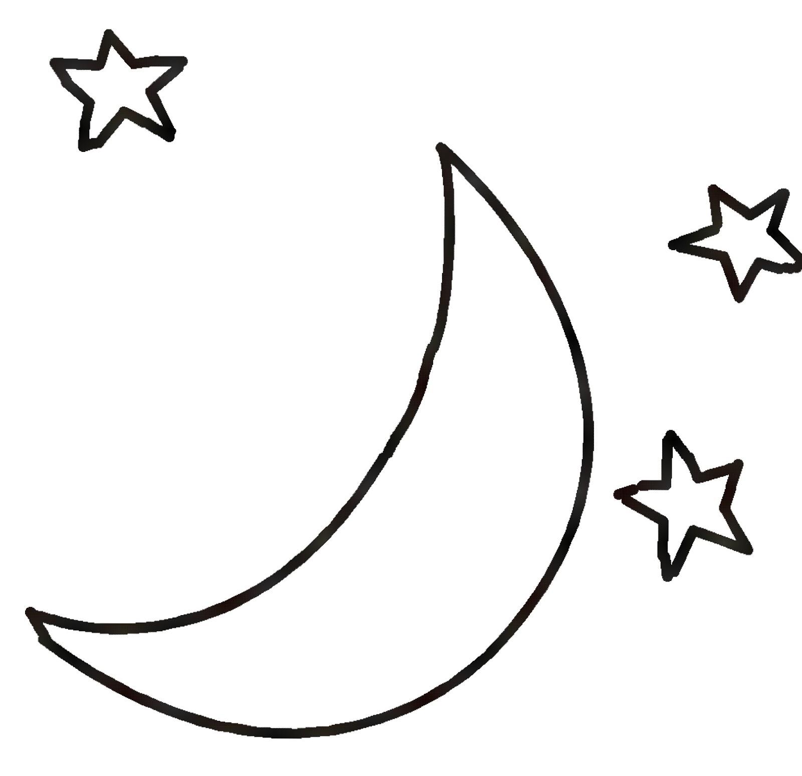 1600x1548 Black And White Moon Clipart Clipartxtras