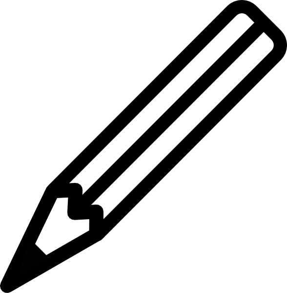 588x599 Pencil Clip Art