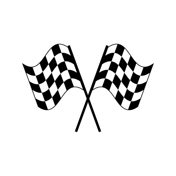 600x600 Checkered Race Car Clipart, Explore Pictures
