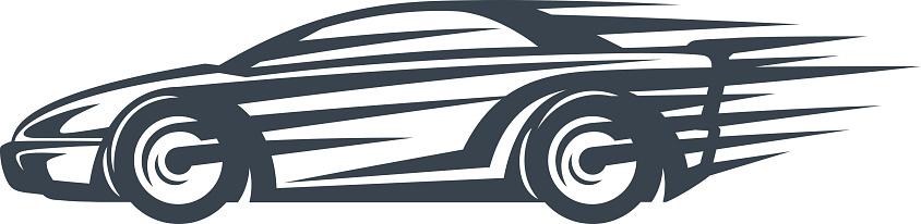 844x206 Race Car Clipart Fast