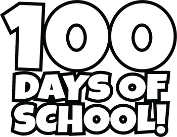 350x272 100 Days of School Clipart Happy 100th Day of School Clip Art!