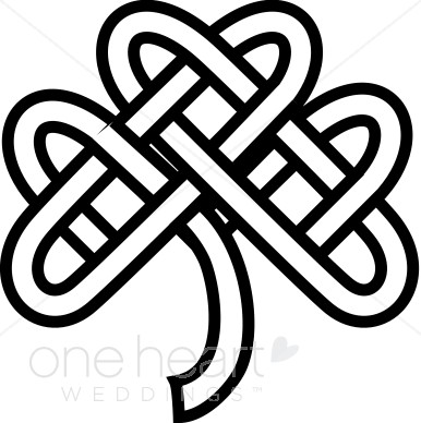 386x388 Celtic Knot Shamrock Clipart Celtic Wedding Clipart