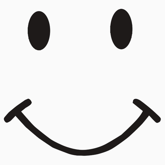 550x550 Smiley Face Black And White Smile Clipart