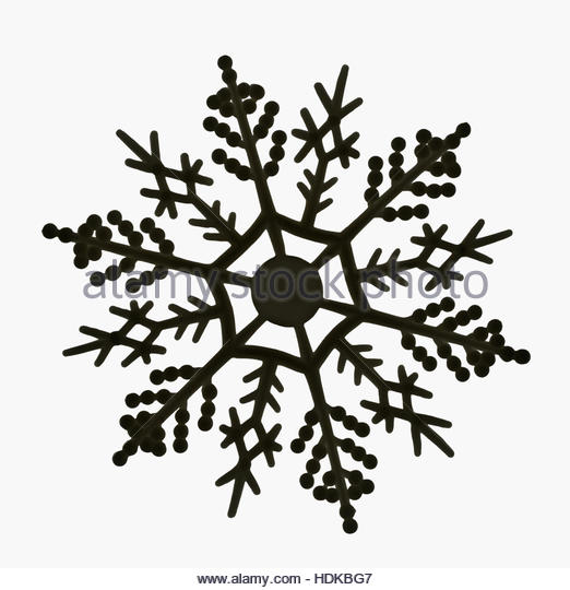 522x540 Snowflakes On Black Background Stock Photos Amp Snowflakes On Black