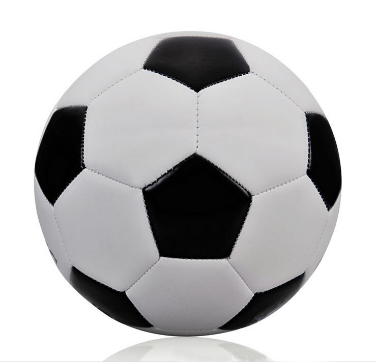 739x712 Hot Sale Classic Black White Standard Soccer Ball Size 5 Training