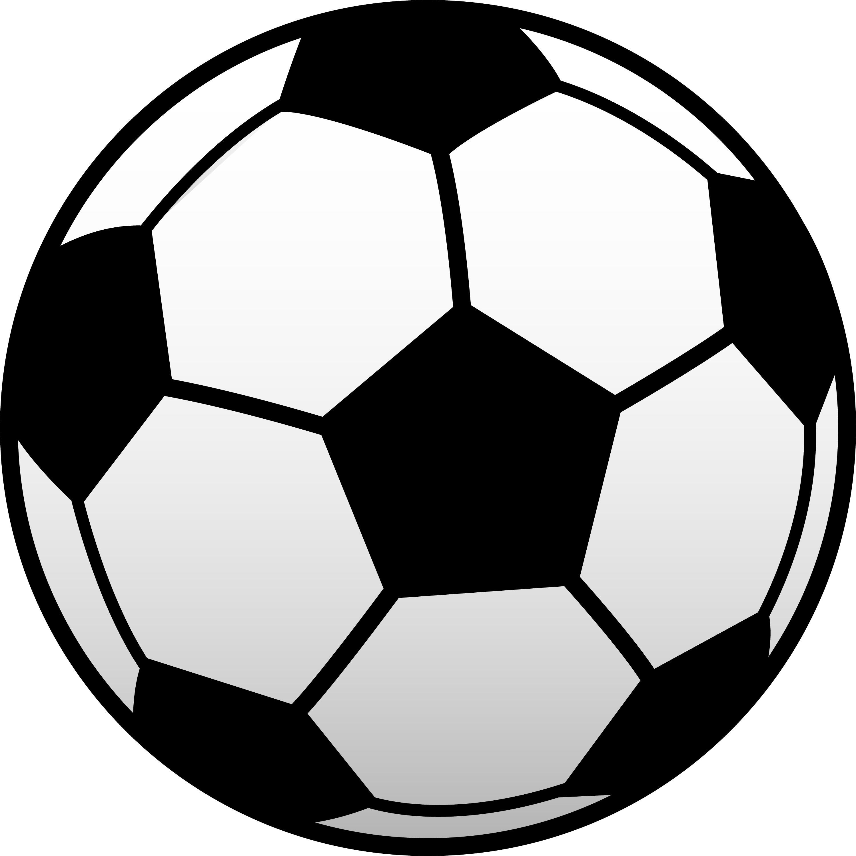 2997x2997 Soccer Ball Black And White Clipart