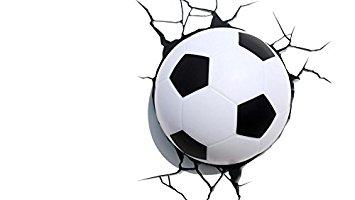355x200 3d Light Fx Plastic Soccer Ball Light