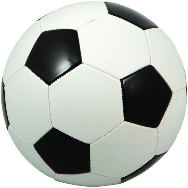 600x600 Wholesale Regulation Size Black White Soccer Ball (Sku 986159