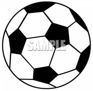 300x296 And White Soccer Ball
