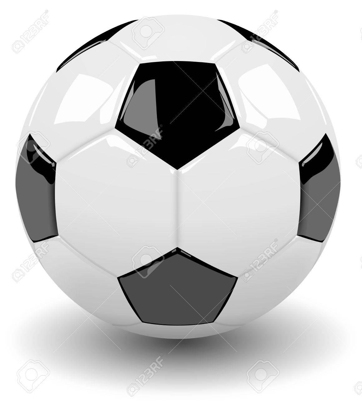 1160x1300 Black And White Soccer Ball
