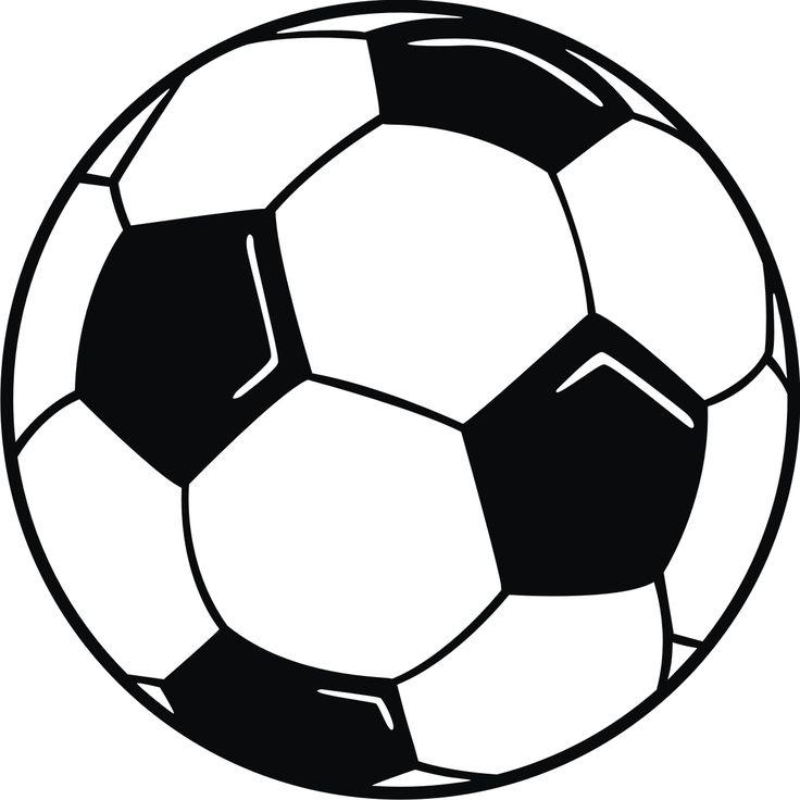 736x736 Kids Soccer Ball Clipart