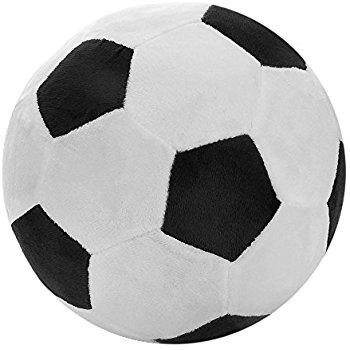350x350 Tplay Soccer Ball Plush Pillow Toy, 8 L X 8 W X 8 H