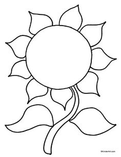 236x306 Free Printable Sunflower Coloring Pages For Kids Auction Art