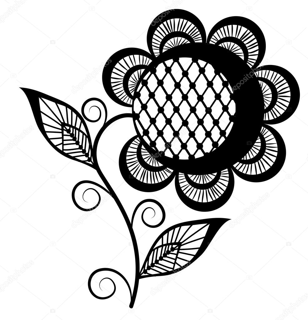 987x1024 Sunflower Drawing Black And White Amazing Wallpapers