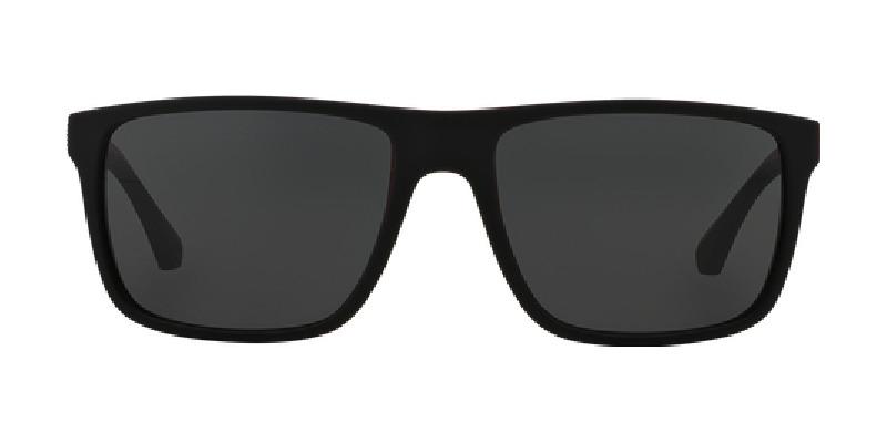 ff0283bc7ef7 800x400 Emporio Armani Ea 4033 Men s Sunglasses Black Red Rubber 56 Ebay