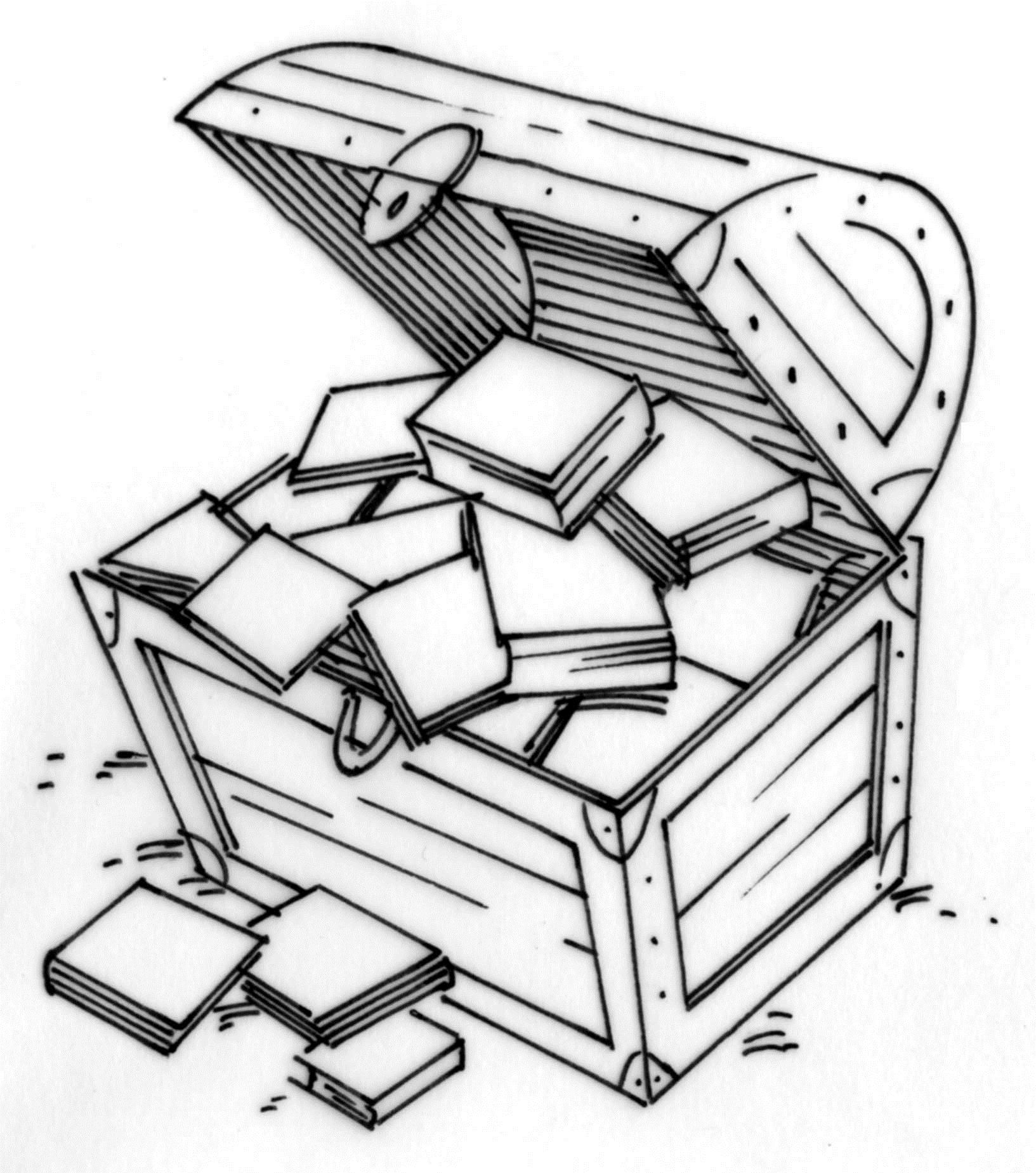 black and white treasure chest free download best black and white