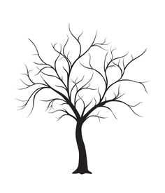 236x275 Tree Drawings Black And White Sillouette Tree Silhouette