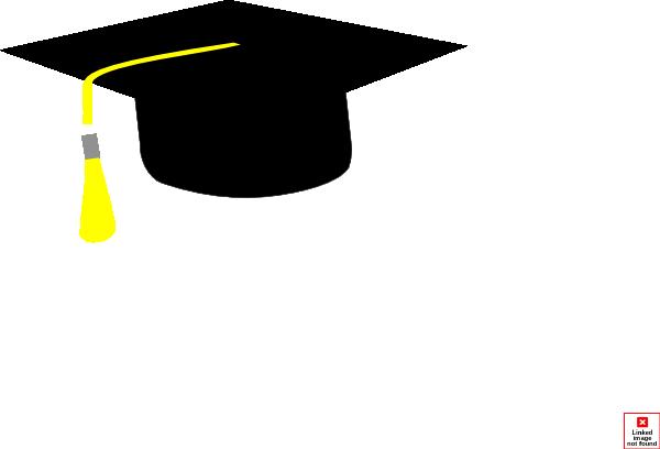 600x408 Graduation Cap Clipart