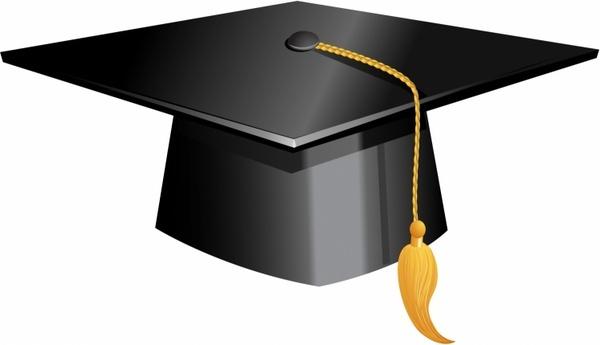600x345 Graduation Cap Free Vector Download (389 Free Vector)