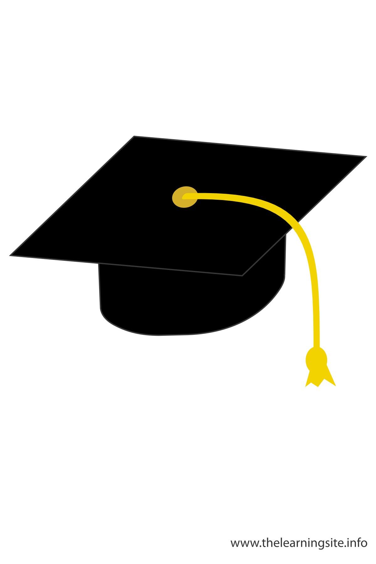 1199x1799 Black Graduation Cap Clipart Clipartfest
