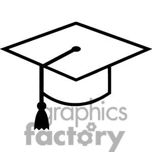 300x300 Cartoon Graduation Cap Clipart