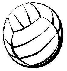 222x237 Free Volleyball Clipart Black And White Clipart Free