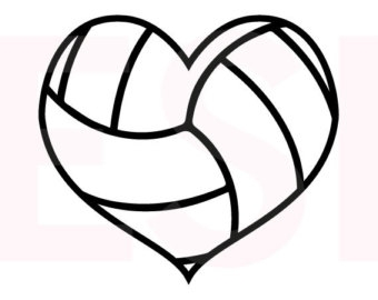 340x270 Volleyball Cliparts Heart