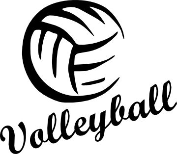360x314 Best Volleyball Clipart Ideas Volleyball Rules