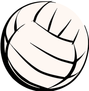 294x298 Volleyball Player Clipart Black And White Clipart Panda
