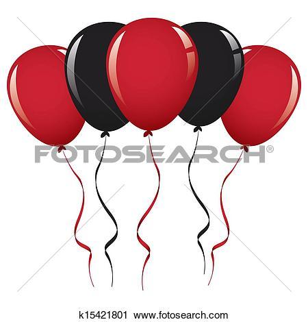 450x470 Balloon Clipart Ribbon