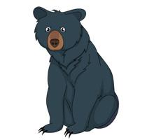 210x200 Free Bear Clipart
