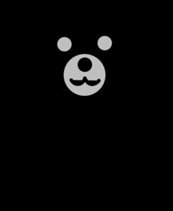 243x297 Black Bear Clip Art