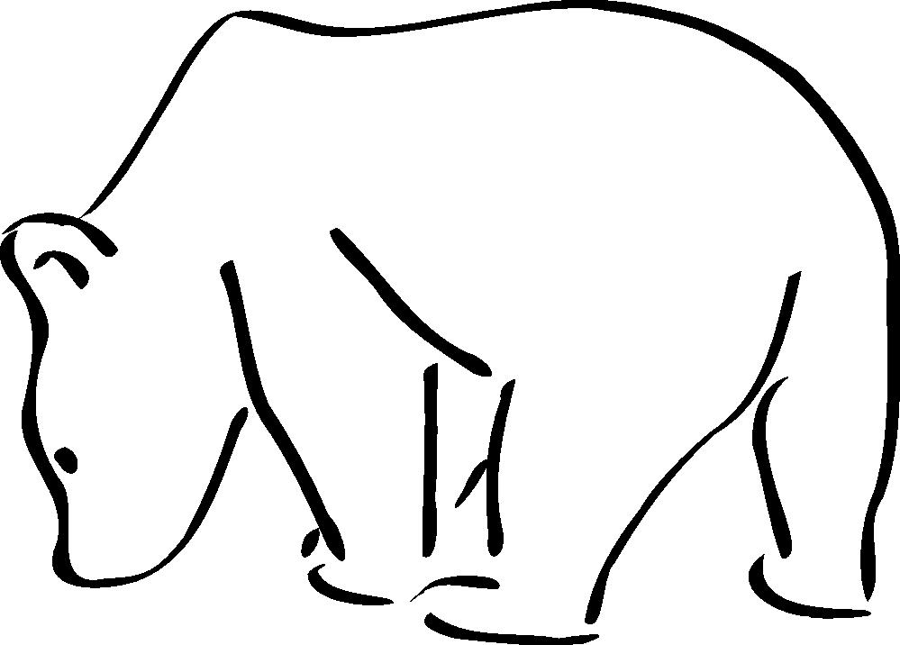 999x716 Teddy Bear Black White Black Bear Outline Clipart Black