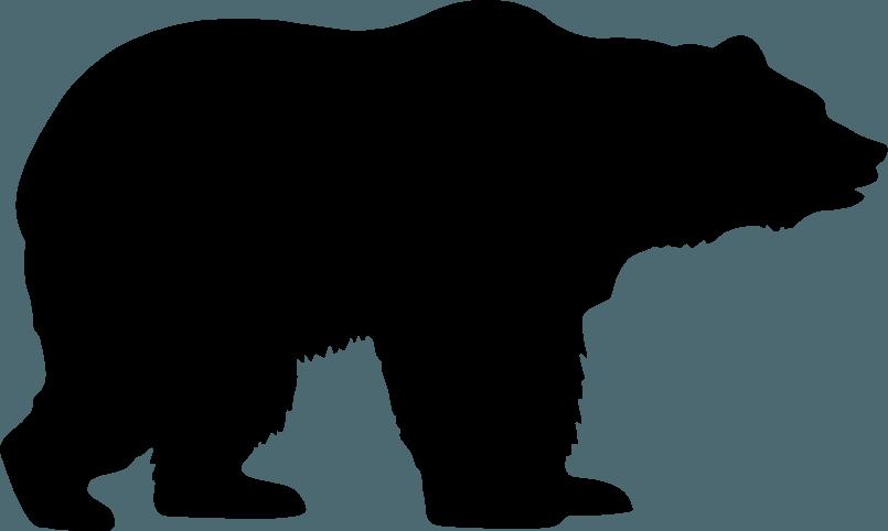 Black Bear Outline | Free download best Black Bear Outline ...