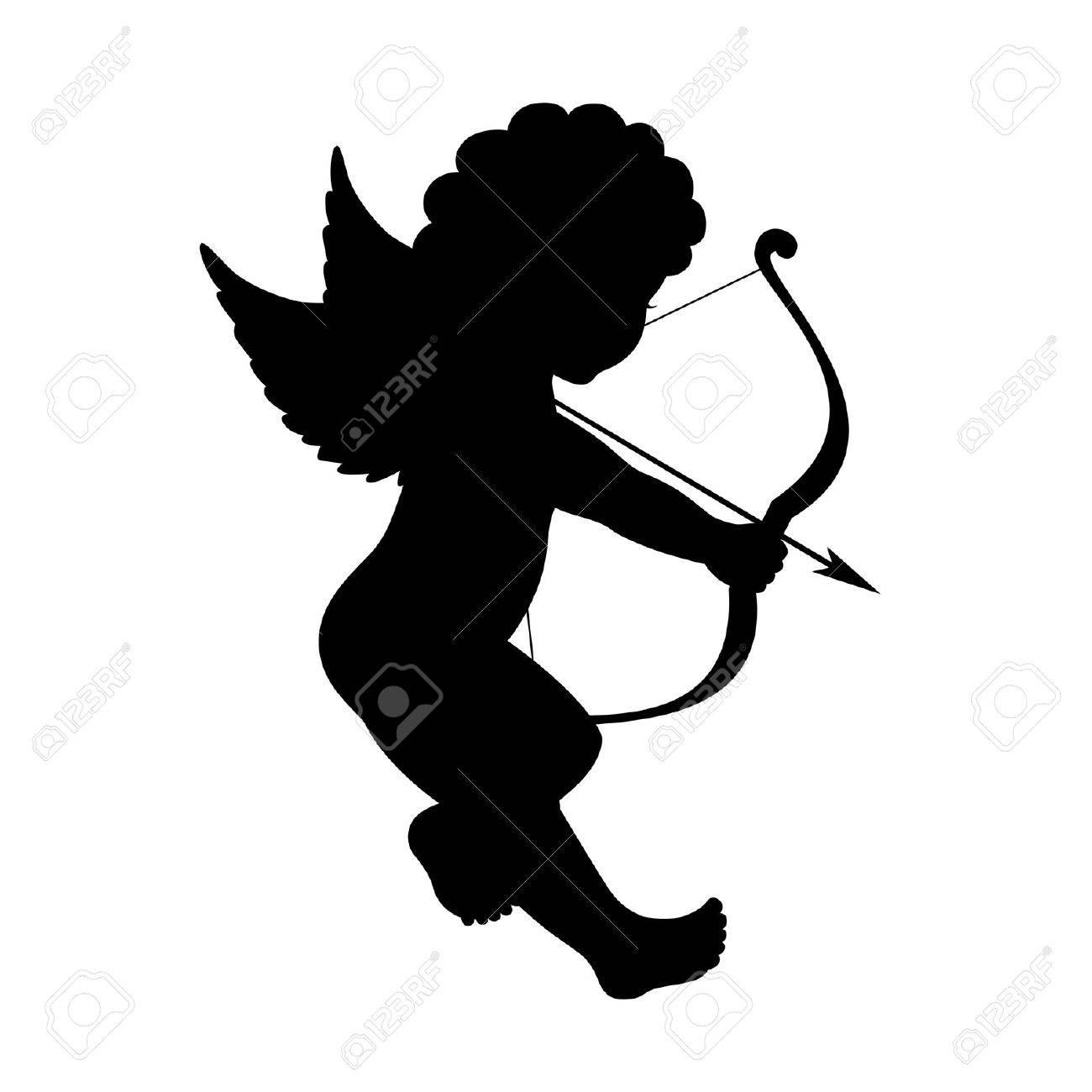 Black Cupid Cliparts