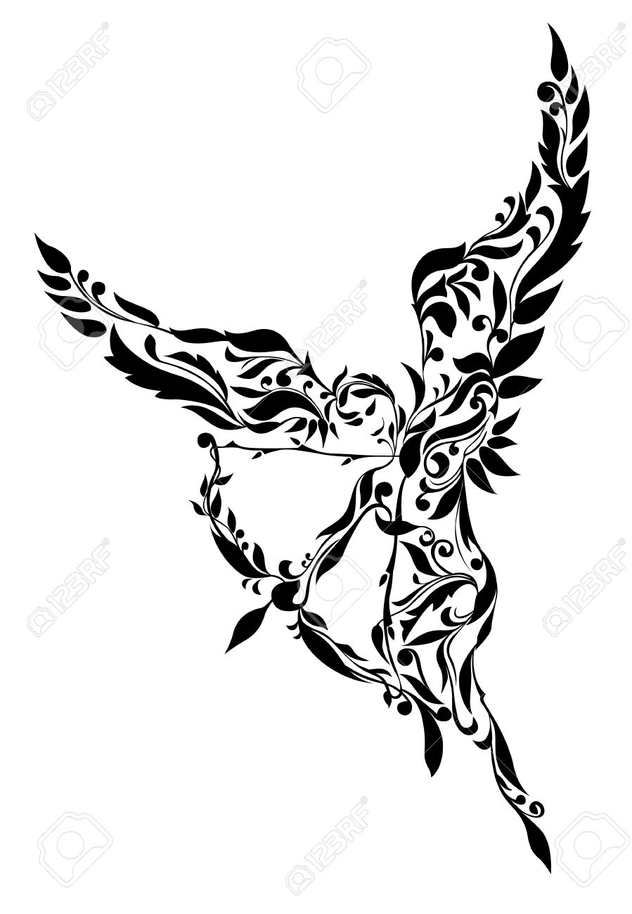 899x1300 Cupid Clipart Wing