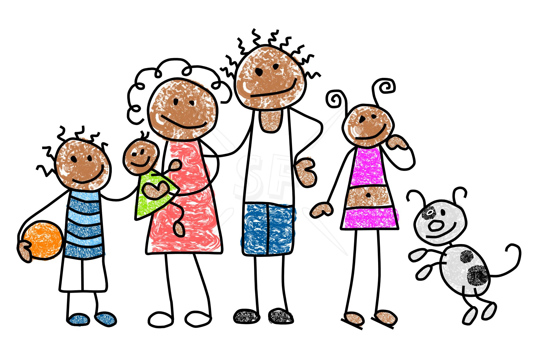1800x1200 Clipart Family Members Free Clipart Images 2