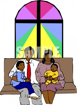 257x350 Religious Family And Friends Clipart