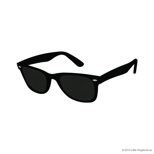 Black Glasses Clipart