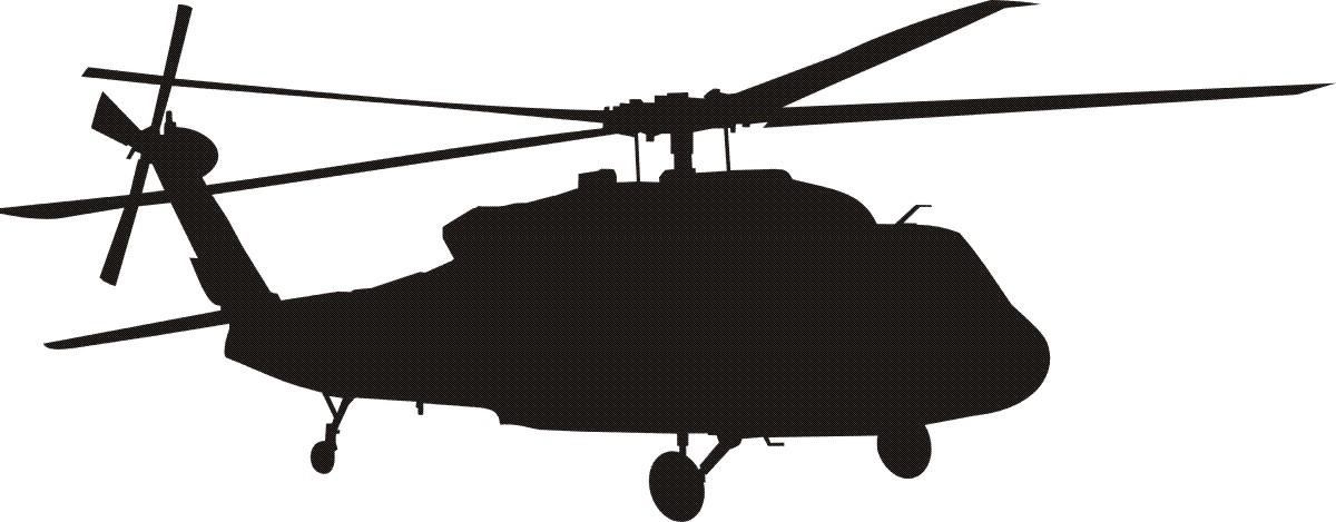 1200x469 Helicopter Clipart Top View