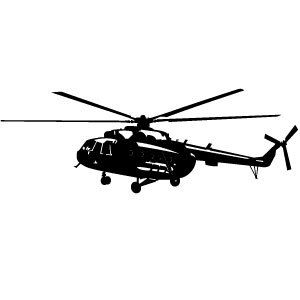 300x300 Helicopter Silhouette Vectors, Photos And Psd Files Free Download