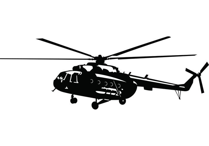 700x490 Helicopter Vector