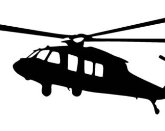 340x270 Helicopter Clipart Blackhawk Helicopter