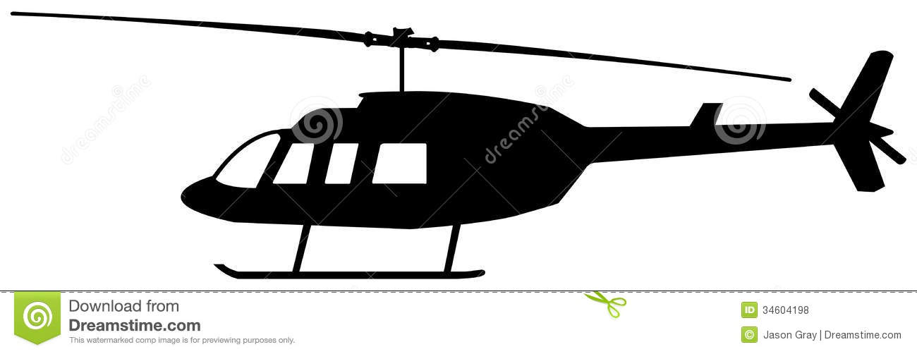1300x502 Helicopter Silhouette Royalty Clipart Panda