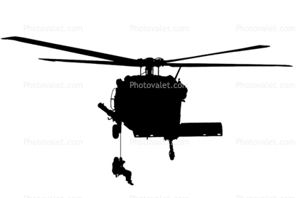 418x279 Sikorsky Sh 60 Blackhawk Silhouette, Logo, Shape Images