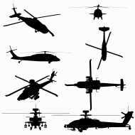 190x190 Uh 60 Blackhawk Silhouette