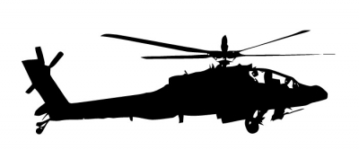 400x167 Apache Helicopter Cliparts 174094